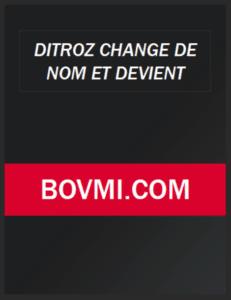 Ditroz pour Bovmi 2021