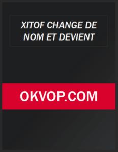 Xitof est devenu okvop 2021